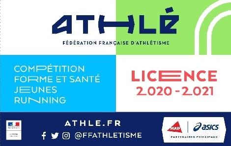 Licence FFA 2020-2021