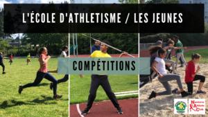 Ecole d'athlétisme : Calendrier des compétitions d'hiver