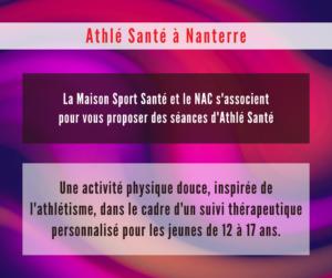Le NAC lance un groupe Athlé-Santé à Nanterre
